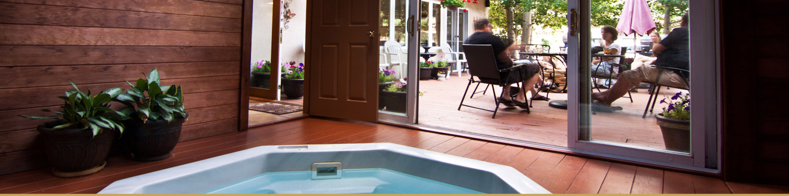Relax in our Hot Tub