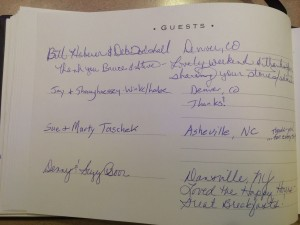 Frisco Colorado Hotels Guest Book