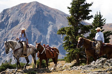 Saddle Up in Summit County | Frisco Inn on Galena
